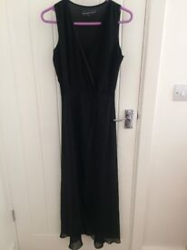 Black Romper Dress. Size 8.
