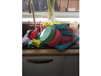 Assorted Silicone baking equipment most never used. Excellent condition