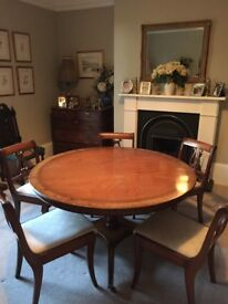 Beresford & Hicks Round Dining Table and Chairs