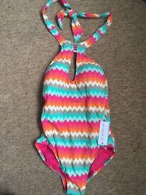 Ladies one piece swimming costume size 12