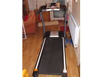 Branx Elite Runner Pro Treadmill 23km/h with 22% incline.