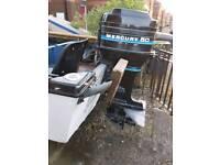 17 foot boat & 50hp engine