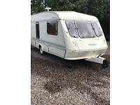 1996 elddis typhoon 4 berth with new awning very good condition