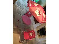 Hello Kitty Children's Outdoor Table