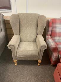 Wingback fireside armchair * free furniture delivery *