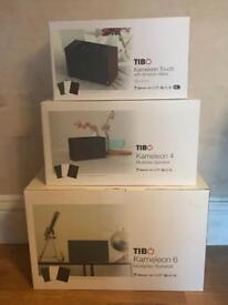 TIBO Kameleon Audio pack 3x multiplay Speakers with ALEXA