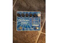 electro harmonix Stereo Memory Man with Hazari effects unit.