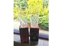 Pair Of Budweiser F1 Glasses - LIMITED EDITION (New In Boxes)
