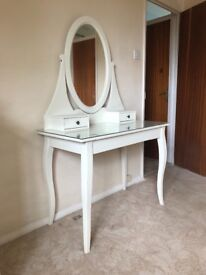 IKEA Dressing table with mirror HEMNES White
