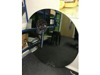 Large Mirror, Smoked Glass 1.2m