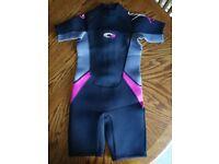 Brand new - Osprey Kids Girls Origin 3mm Summer Wetsuit, size M - £20ono
