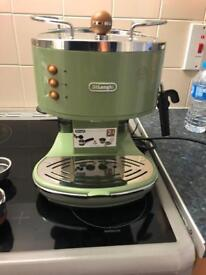 Delonghi coffee machine.