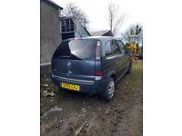 Vauxhall Meriva SPARES/REPAIRS