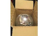 Show tech 30cm Mirror ball. Brand new.