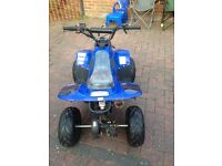 2x children's 70cc Orion quad bikes