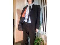 karl jackson by debenhams 42inch chest 34inch waist pinstripe suit