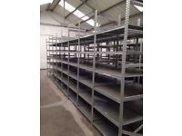 50 BAYS OF GALVENISED SUPERSHELF INDUSTRIAL SHELVING 2M HIGH !( PALLET RACKING , STORAGE)