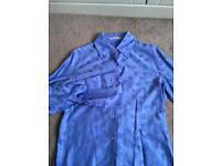 Size 16 TM Lewin ladies shirt