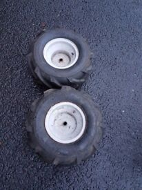 Winter Wheels For Sale for Sit on Lawnmower