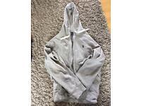 Men's Grey Ralph Lauren Hoody - XL