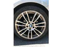 Genuine BMW 403m Alloys Bridgestone tyres tpms 5x120 19s