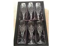 Rockingham crystal Winchester glasses