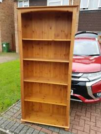 Large pine set of shelves
