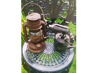 BLOW TORCH & HURRICANE LAMP £25 FOR BOTH