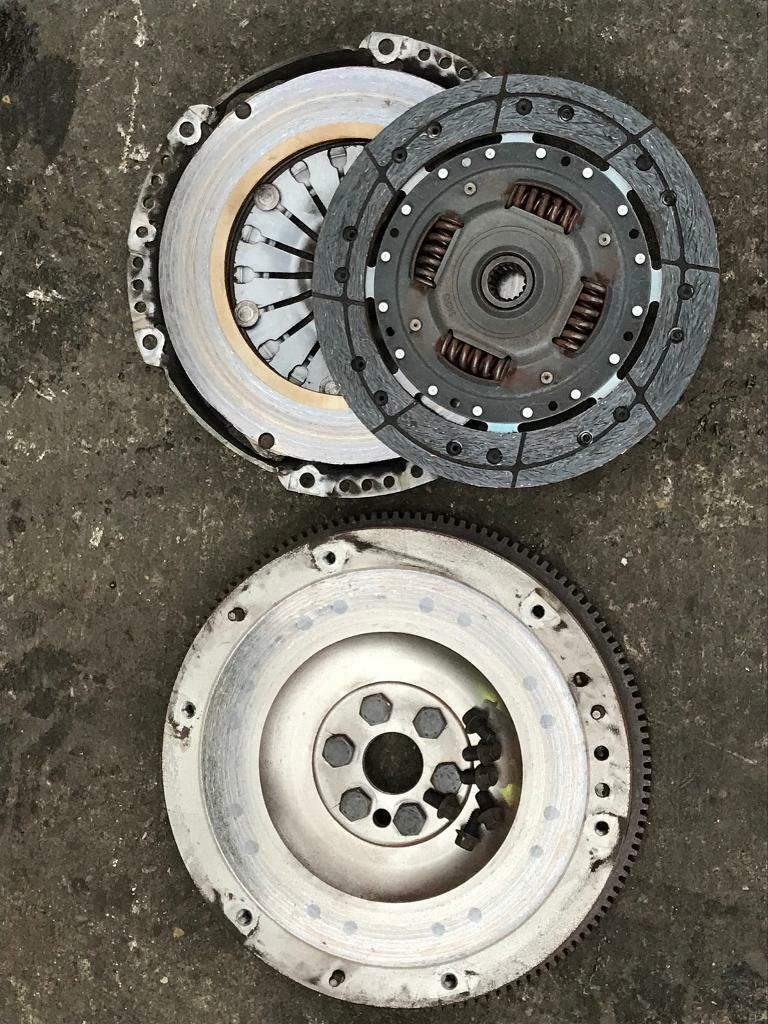 Ford Focus 1.6 petrol mk2 solid single mass flywheel Wheel & clutch