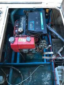Boats. 3x Volvo penta aq145 engines.