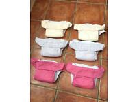Cloth Pocket Nappies - Bum Genius (4.0) x6