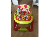 Baby walker and abacus toys