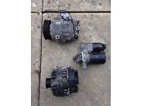Vw polo 1.2 ac condenser, alternator and starter motor
