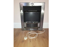 Electric heater fireplace effect blow heater with 3 speed options - Effecient, Good conditions