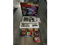 original rare snes action pack the scope 6 cartridge contains 6 games for use with the scope gun