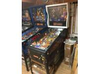 Sharkey's Shootout Pinball Machine