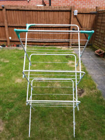 NEW 3-Tier Steel Folding Clothes Airer