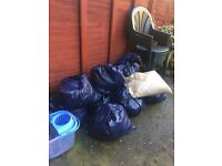 FREE for collection 10 5L bags of clean sand