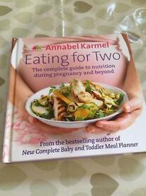 Annabel Karmel Eating for Two book.
