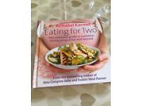Annabel Karmel Eating for Two book.