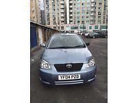 2004 (04 reg) Toyota Corolla Hatchback, Automatic 1.6L, Petrol