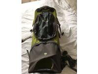 Baby/ toddler backpack carrier