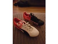 Junior size 1 puma evospeed football boots