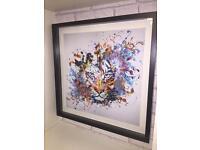 Tiger print (high quality)