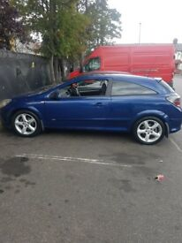 Vauxhall astra good condition, drives smooth, has a dvd player at the front. Its 3 doors.
