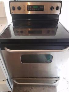 Alternative Appliances GE Stainless glass top stove