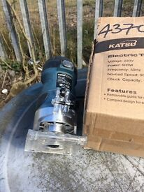 Katsu router trimmer brand new not used