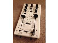 iRig Mix Near New! Great for starter DJ!