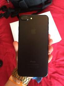 iPhone 7 Plus Black with apple care
