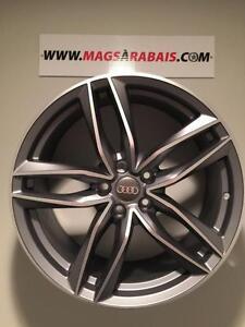 MAGS 17 pouces AUDI NEUFS + pneus *ÉTÉ* 2 SUCCUSALES : QUÉBEC / LAVAL